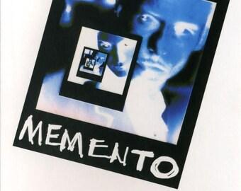 Back to School Sale: MEMENTO Movie Poster 2001 Guy Pierce Christopher Nolan