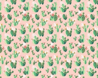 cactus crib bedding - green, Palm Springs, desert, baby girl, nursery, fitted sheet , changing mat cover, bumpers,skirt, rail guard