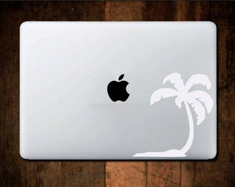 Palm tree Decal - Car Decal - Laptop Decal - Water Bottle Decal - Bumper Sticker - Phone Decal - yeti sticker - Custom decal