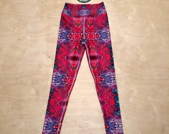 "The ""Cotton Candy"" Kaleidoscopic Apparel Yoga Pants (LE 25)"