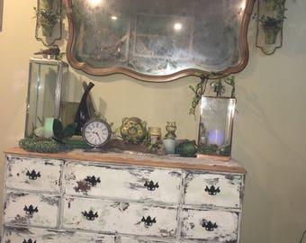 Vintage repurposed dresser/cabinet
