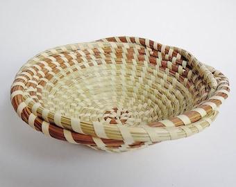 Sweetgrass Bowl- 6 inches, Sweetgrass Basket, Gullah, African Art, Charleston SC
