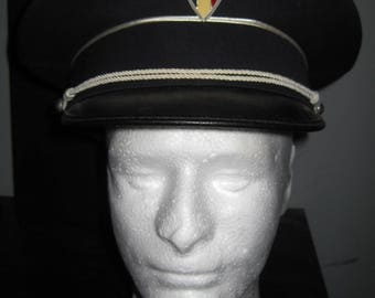 Obsolete FRENCH France MUNICIPAL POLICE Cop cap hat