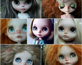 Full custom Service. ooak blythe/Icy doll. custom collection. Little Darling
