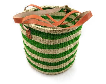 Storage basket, Kiondo, African basket, sisal basket, kiondo, shopping basket, toy basket, display basket