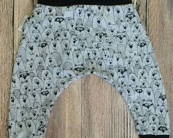 Harems, Baby Clothing, Children's Clothing, Trousers, kids clothing, Ready made, 6-12 months