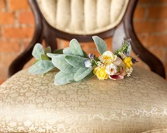 Floral Crown | One-Side Pastel Floral Crown