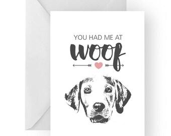 Labrador anniversary card- birthday card, love card, dog birthday card, labrador anniversary, labrador card, labrador greeting card