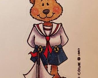 Sailor Teddy Bear sticker by Provo Craft