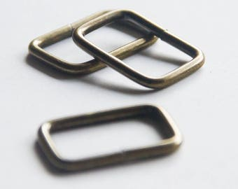 27 mm metal loops for bag straps