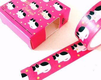 Meow meow cat washi tape