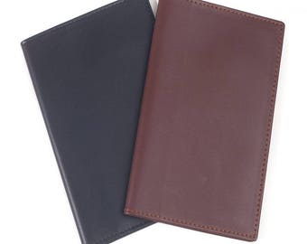 Arcadia Unisex Lambskin Leather RFID Blocking Passport Holder