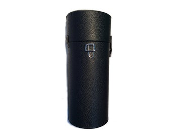Black Cylinder Case made in Japan