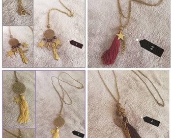 """Long """"unique"""" necklaces"""