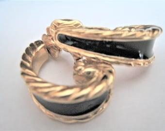 Trifari Clip Earrings
