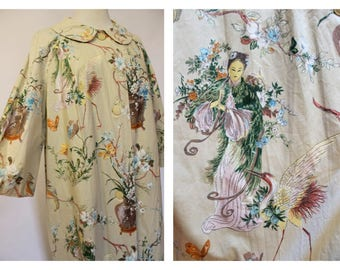Hand painted house coat