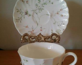 Wedgwood Bone China/English Cup and Saucer