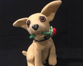 """22%OFF Taco Bell Talking Chihuahua - Says """"I think I'm in love!"""" - ca 1997"""