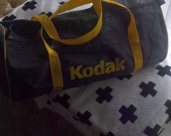 Vintage Kodak fold away camera sports bag