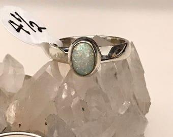 Ethiopian Opal Ring, Size 4 1/2