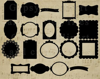 Tag SVG or Label Clipart svg,. Gift Tag svg or Label Template, DIY Tag or Label, Hang Tag