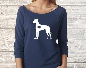 GREAT DANE Dog Next Level Long Sleeve Shirt