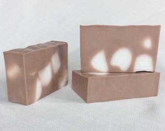 Hot Cocoa with Marshmallows, Handmade soap, HoneyBarrel Soaps, Artisan Soap, Melt n Pour Soaps