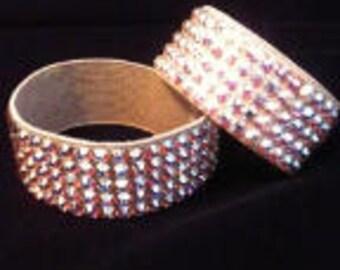 """Swarovski Crystal Rhinestone Bracelet (1"""")"""