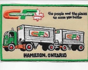 Vintage Trucking & Van Lines Canada Canadian Freightways Eastern Ltd Hamilton, ON
