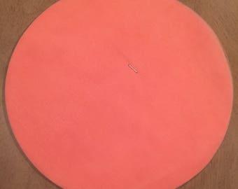 Tulle Circles - Peach