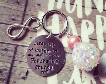 Mother keychain gift, friendship