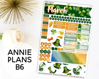 Annie Plans B6 Size Monthly Kit | You pick the month! 848L