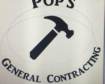Pop's General Contracting Shirt