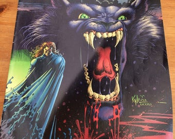 Malibu Comic - Ultraverse-The Night Man #7.