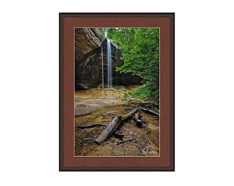 Cedar WaterFalls, Hocking Hills, State Park, Ohio, Fine Art Photography, Wall Art, Home Decor, Landscape Photo