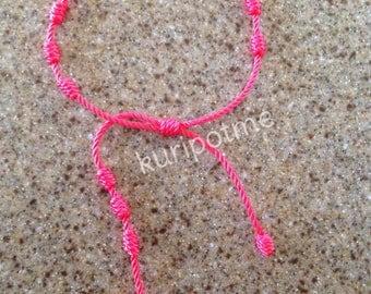 Style 3 - Knotted Rosary Bracelet