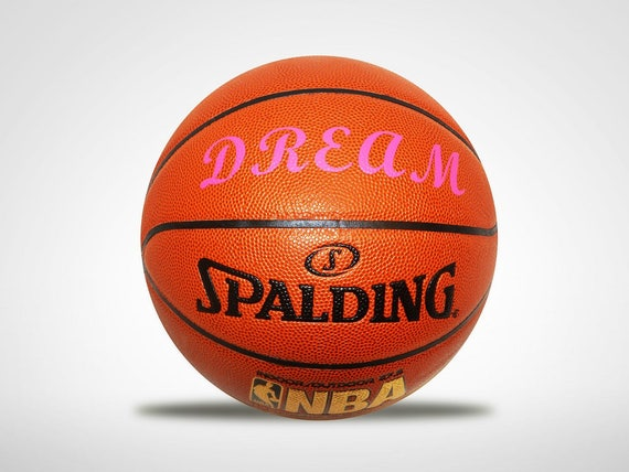 Personalized Customized Pink Basketball Spalding Indoor/Outdoor Women's Girls Gift....Pretty in Pink