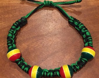 Knotted Bead Bracelet-- Authentic from Tanzania