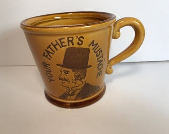 Your Father's Mustache Shaving Mug