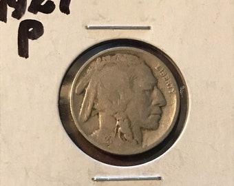 1927 P Buffalo Nickel • #310