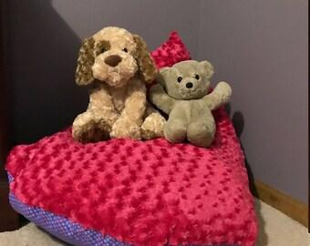 stuffed animal bean bag storage, stuffed animal storage, bean bag chair cover, childs soft toy storage bag