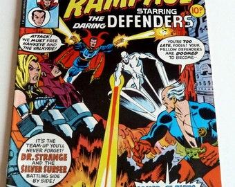 1977 Marvel Comics RAMPAGE #9 #10 #11 #12 Near Mint Condition 9.4
