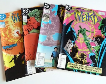 1988 DC Comics THE WEIRD Collection #1 #2 #3 #4 editions Near Mint Condition 9.4