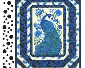 Fabulous Feathers:  a quilt design by Nan Baker.