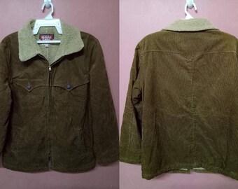SUGAR CANE Jacket coat velvet / canes zipper very rare jacket