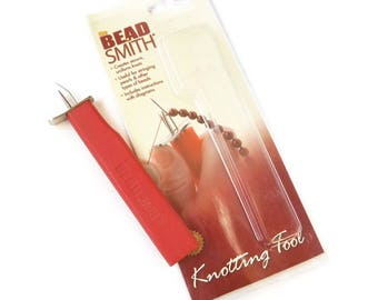 Beadsmith Knotting tools, EZ Knotting Tool, Creating knotted necklaces and bracelets
