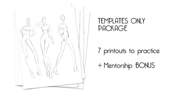 Fashion illustration templates for beginners instant download fashion illustration templates for beginners instant download female croquis male croquis kids croquis online guidance from theinspiredfashion on etsy pronofoot35fo Choice Image
