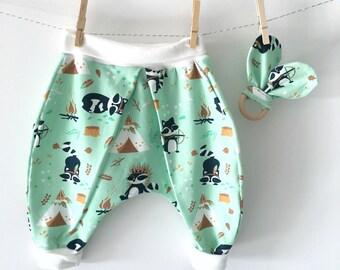 Baby harem pants set
