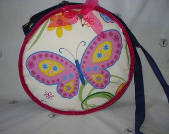 Round bag Butterfly / butterfly