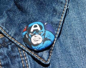 Marvevl Avengers Captain America lapel pin